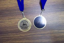 adaptive bicycle derby medal