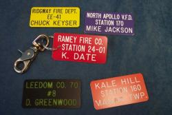 fire department key tags