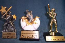 baseball tournament special trophies