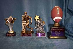 football specialty trophies