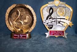 music award resins