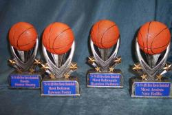 river hawks most rebounds basketball special trophies